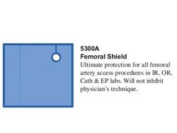 RadPad Femoral Entry Radiation Protection Shield