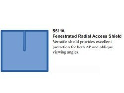 RadPad Fenestrated Radial Access Radiation Protection Shield