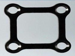 G Surgiwear Four Hole Square Trauma Plate