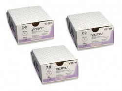 Ethicon Vicryl Plus Surgical Sutures Combo*