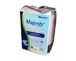 Romsons Majesty diapers for adults - Large