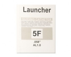 Medtronic Launcher Balanced Left Coronary Curves Guiding Catheter