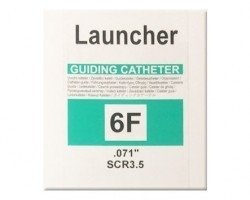 Medtronic Launcher Balanced Right Coronary Curves Guiding Catheter