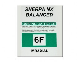 Medtronic Sherpa NX Balanced Trans Radial Curves Guiding Catheter