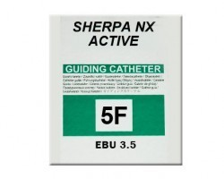 Medtronic Sherpa NX Active Left Coronary Curves Guiding Catheter