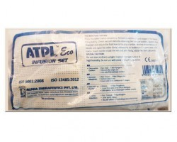ATPL Eco Non Vented Tube Latex IV Set