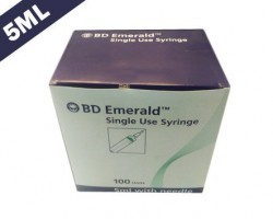 Becton Dickinson (BD) Emerald Syringe With Needle - 5ml