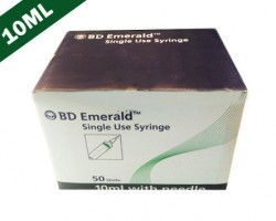 Becton Dickinson (BD) Emerald Syringe With Needle - 10ml