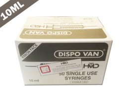 Dispo Van Syringe with Needle - 10ml