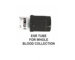 Vaku-8 Vacuum Blood Collection Tube - ESR -Black