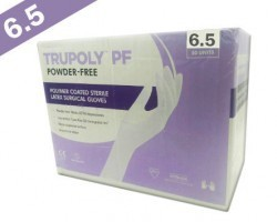 Sutures India Trupoly PF Sterile Powder Free Surgical Gloves – Size 6.5