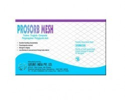 Sutures India Prosorb Round Body Surgical Mesh