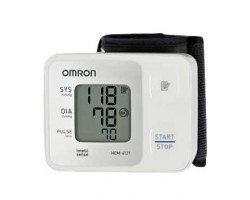 Omron HEM-6121 Digital Blood Pressure Monitor - Wrist Type