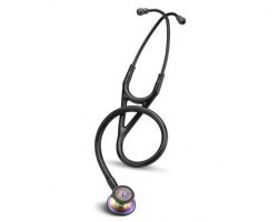 Littmann Cardiology III Stethoscope - Black with Rainbow Finish