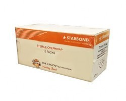 Fine Surgicals Starbond Sutures USP 3-0, 1/2 Circle Round Body