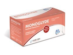 Sutures India Monoglyde USP 0