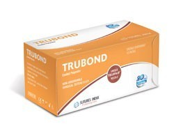Sutures India Trubond USP 3-0, 2 X 1/2 Circle Taper Cut