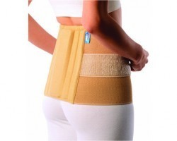 Vissco Sacro Double Straping Lumbar Belt - Medium