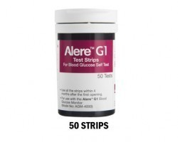 alere g1 test strips - Pack of 50s from smb