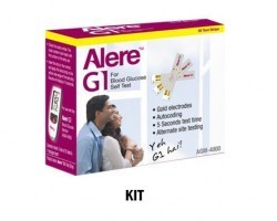 Alere G1 Blood Glucometer Kit