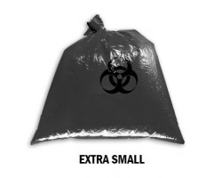 Bellcross Biomedical Waste Collection Bags - Black (Extra Small)