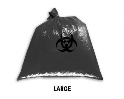 Bellcross Biomedical Waste Collection Bags - Black (Large)