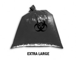 Bellcross Biomedical Waste Collection Bags - Black (XL)
