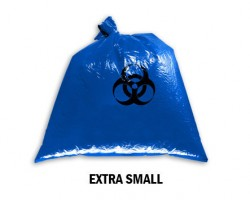 Bellcross Biomedical Waste Collection Bags - Blue (Extra Small)