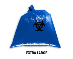 Bellcross Biomedical Waste Collection Bags - Blue (XL)