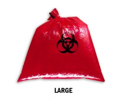 Bellcross Biomedical Waste Collection Bags - Red (Large)