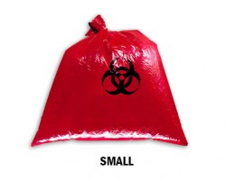 Bellcross Biomedical Waste Collection Bags - Red (Small)