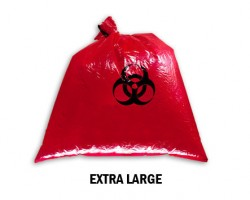 Bellcross Biomedical Waste Collection Bags - Red (XL)
