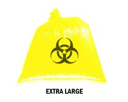 Bellcross Biomedical Waste Collection Bags - Yellow (XL)