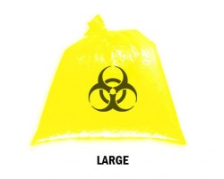 Bellcross Biomedical Waste Collection Bags - Yellow (Large)