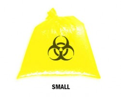 Bellcross Biomedical Waste Collection Bags - Yellow (Small)