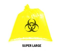 Bellcross Biomedical Waste Collection Bags - Yellow (Super Large)