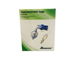 Romsons Tracheostomy Tube Cuffed