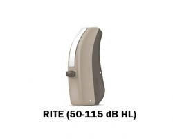 Widex Daily 100 Receiver in the Ear (RITE) Hearing Aid - Beige
