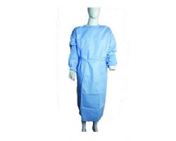 Medi Karma Surgical Gown with 2 Wipes