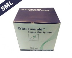 Becton Dickinson (BD) Emerald Syringe With Needle - 5 ml