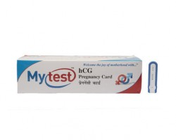 Mytest One Step hCG Pregnancy Test Kit
