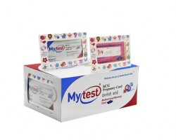 Mytest One Step hCG Pregnancy Card (Motherhood Memory Card)