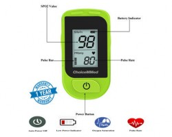 ChoiceMMed Fingertip Pulse Oximeter - MD300C15D