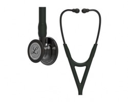 3M Littmann Cardiology IV Stethoscope - Black with Smoke Finish 6162