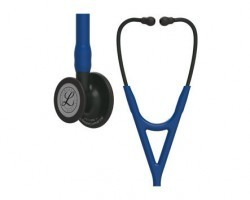 3M Littmann Cardiology IV Stethoscope - Blue with Black Finish 6168