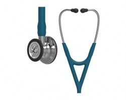 3M Littmann Cardiology IV Stethoscope Caribbean Blue with Mirror Finish 6169