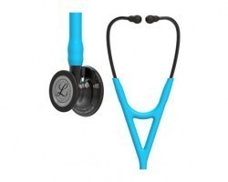 3M Littmann Cardiology IV Stethoscope - Turquoise with Smoke Finish 6171