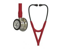 3M Littmann Cardiology IV Stethoscope Burgundy with Champagne Finish 6176