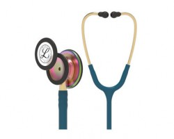 3M Littmann Classic III Stethoscope - Caribbean Blue with Rainbow Finish 5807