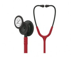 3M Littmann Classic III Stethoscope Burgundy with Black Finish 5868